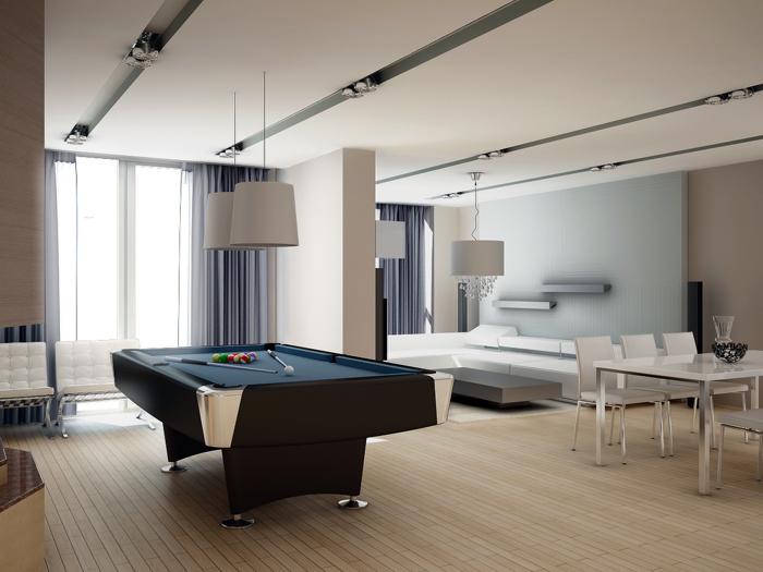 Картинка за 3D визуализация за интериорно оформление на апартамент