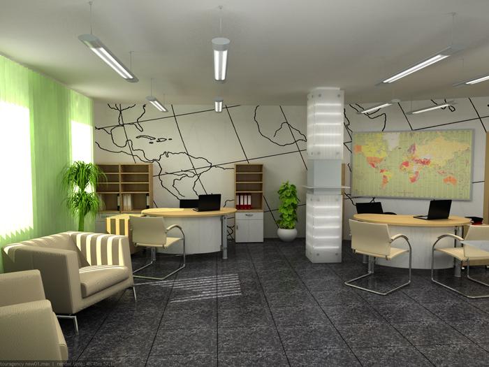 Картинка за Проект за офис на туристическа агенция