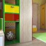 Детска стая в Семейна къща, гара Север