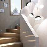 Вътрешно стълбище в Семейна къща, гара Север