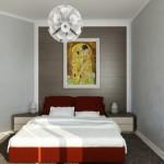 дизайн на спалня в апартамент в град хасково от ирис дизайн