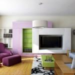 дизайн на всекидневна в апартамент в град хасково от ирис дизайн