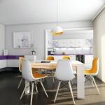 дизайн на всекидневна трапезария в апартамент в град хасково от ирис дизайн