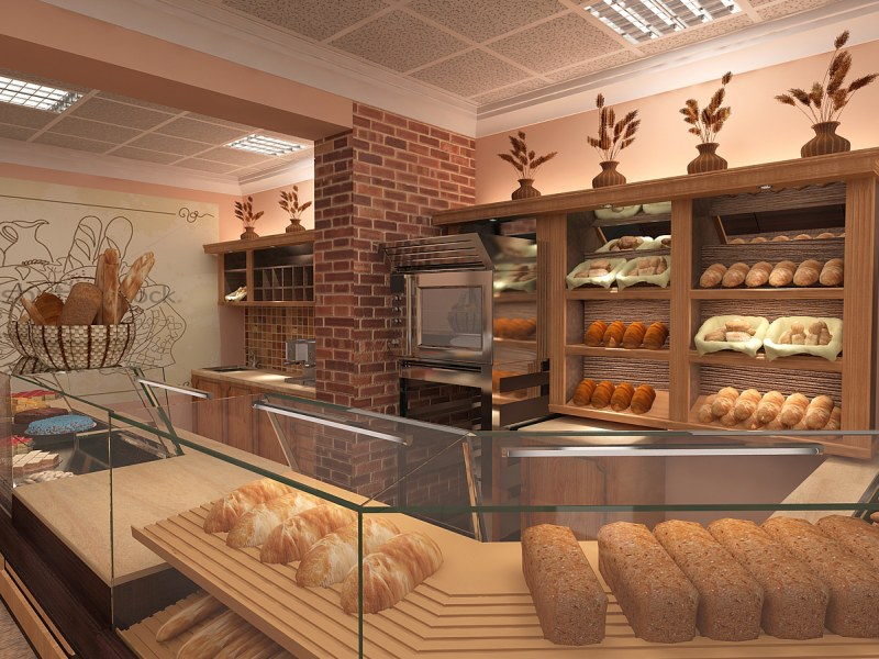 Картинка за Проект за интериорен дизайн на Австрийска Пекарна SCHATZ в София