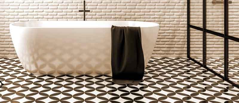 Луксозни керамични плочки за баня от Djia.bg